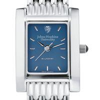 Johns Hopkins Women's Blue Quad Watch with Bracelet
