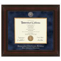 Berkeley Haas Diploma Frame - Excelsior