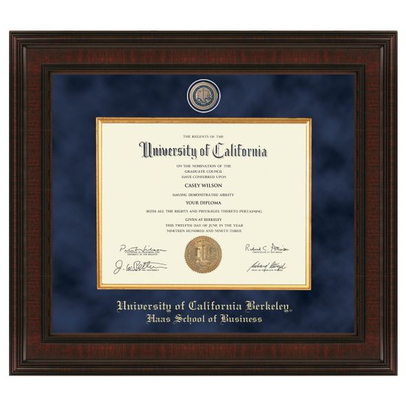 Berkeley Haas Diploma Frame - Excelsior - Image 1