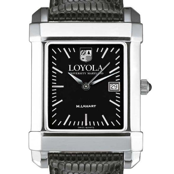 Loyola Men's Black Quad with Leather - Image 1