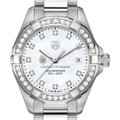 University of Tennessee W's TAG Heuer Steel Aquaracer with MOP Dia Dial & Bezel - Image 1