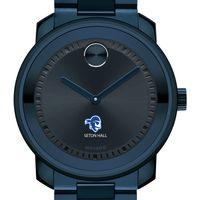 Seton Hall University Men's Movado BOLD Blue Ion with Bracelet