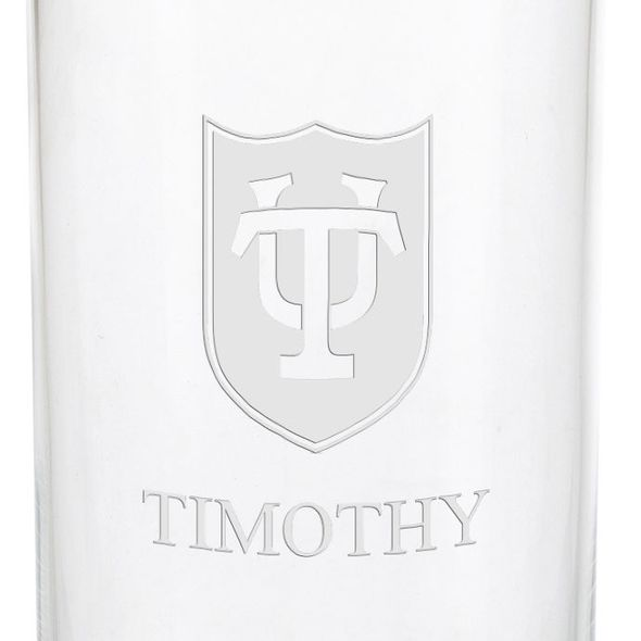 Tulane University Iced Beverage Glasses - Set of 2 - Image 3