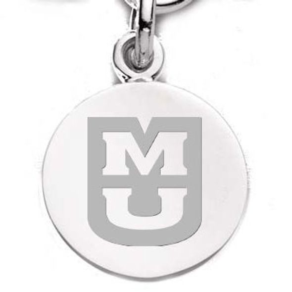 University of Missouri Sterling Silver Charm