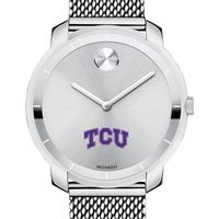 Texas Christian University Women's Movado Stainless Bold 36