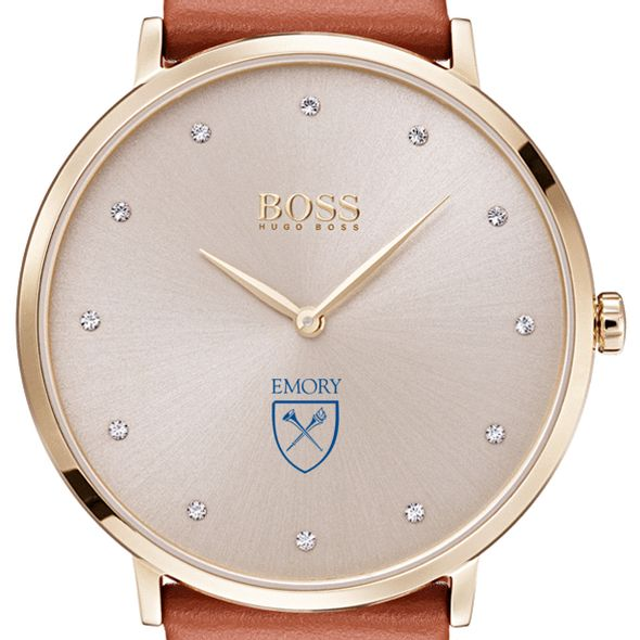 Emory University Women's BOSS Champagne with Leather from M.LaHart