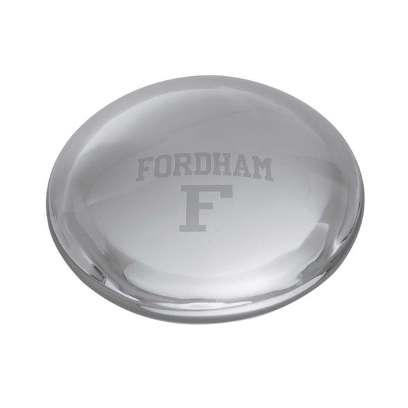 Fordham Glass Dome Paperweight by Simon Pearce