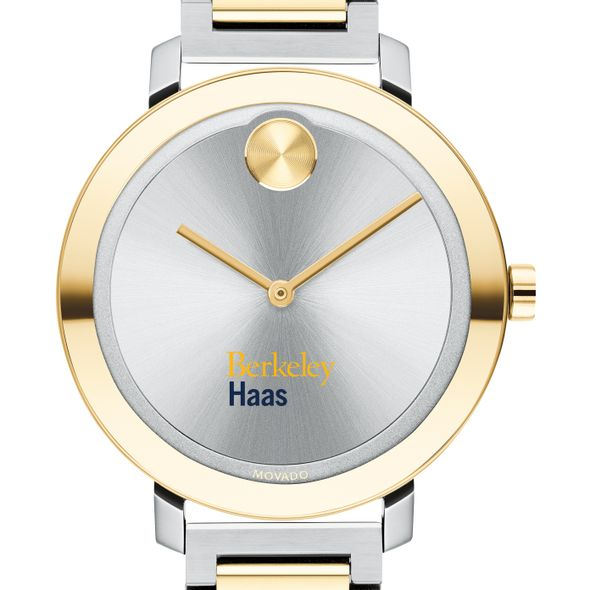 Haas School of Business Women's Movado Two-Tone Bold 34