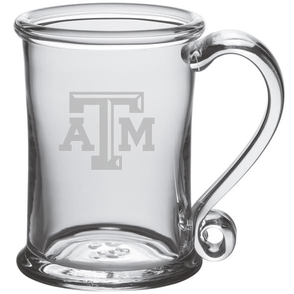 Texas A&M Glass Tankard by Simon Pearce