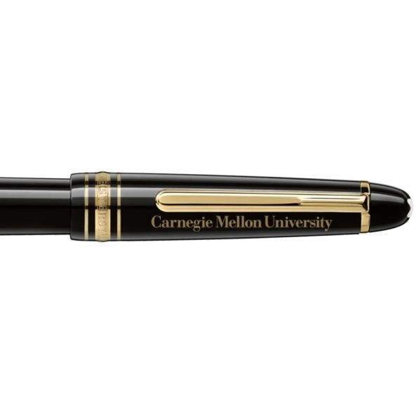 Carnegie Mellon University Montblanc Meisterstück Classique Fountain Pen in Gold - Image 2