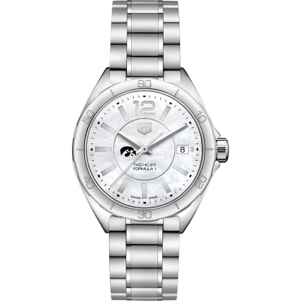 University of Iowa Women's TAG Heuer Formula 1 with MOP Dial - Image 2