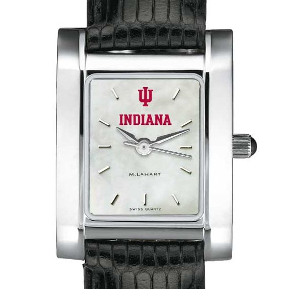 Indiana University Women's MOP Quad with Leather Strap