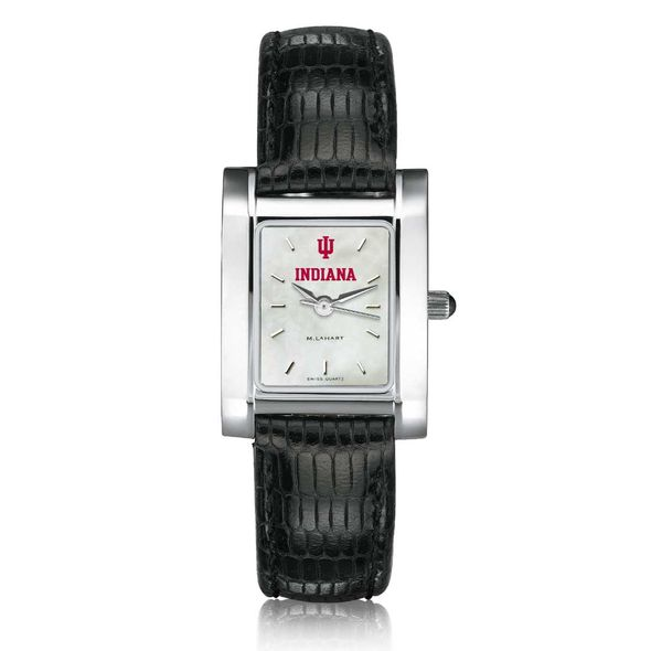 Indiana University Women's MOP Quad with Leather Strap - Image 2