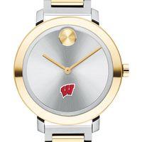 University of Wisconsin Women's Movado Two-Tone Bold 34