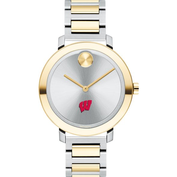 University of Wisconsin Women's Movado Two-Tone Bold 34 - Image 2