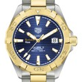 Berkeley Haas Men's TAG Heuer Automatic Two-Tone Aquaracer with Blue Dial - Image 1