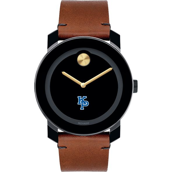 US Merchant Marine Academy Men's Movado BOLD with Brown Leather Strap - Image 2