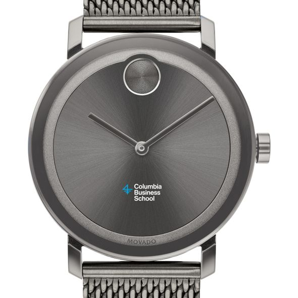 Columbia Business School Men's Movado BOLD Gunmetal Grey with Mesh Bracelet