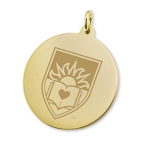 Lehigh 18K Gold Charm