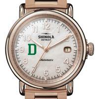 Dartmouth Shinola Watch, The Runwell Automatic 39.5mm MOP Dial