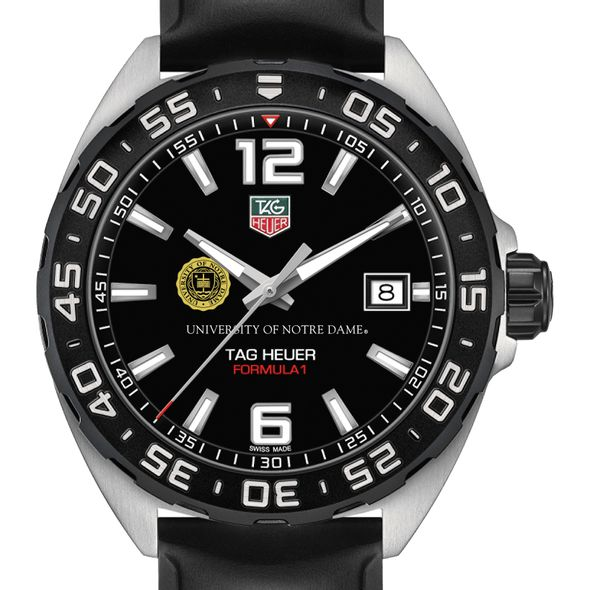 University of Notre Dame Men's TAG Heuer Formula 1 with Black Dial