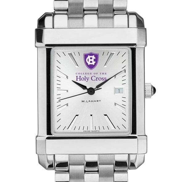 Holy Cross Men's Collegiate Watch w/ Bracelet