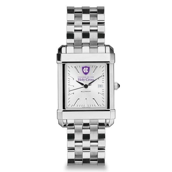 Holy Cross Men's Collegiate Watch w/ Bracelet - Image 2