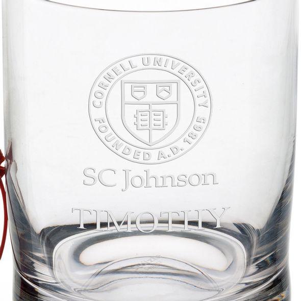 SC Johnson College Tumbler Glasses - Set of 4 - Image 3