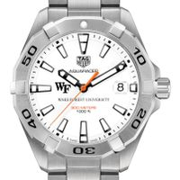 Wake Forest University Men's TAG Heuer Steel Aquaracer