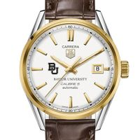 Baylor Men's TAG Heuer Two-Tone Carrera with Strap
