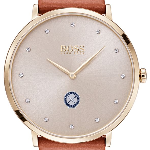 U.S. Naval Institute Women's BOSS Champagne with Leather from M.LaHart