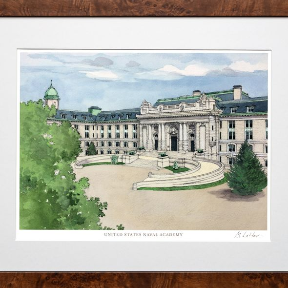 USNA Campus Print- Limited Edition, Large - Image 2
