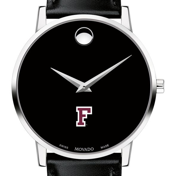 Fordham Men's Movado Museum with Leather Strap