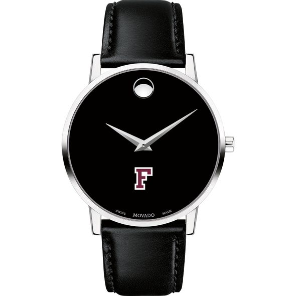 Fordham Men's Movado Museum with Leather Strap - Image 2