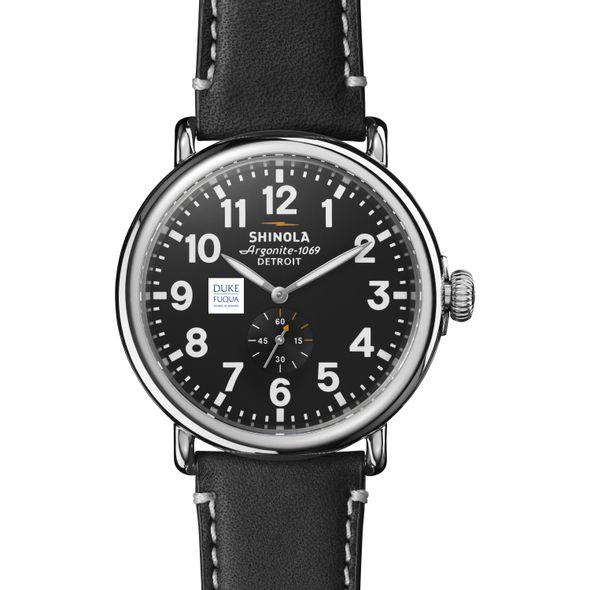 Duke Fuqua Shinola Watch, The Runwell 47mm Black Dial - Image 2