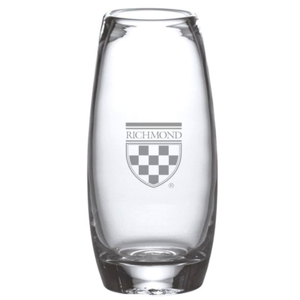 University of Richmond Glass Addison Vase by Simon Pearce