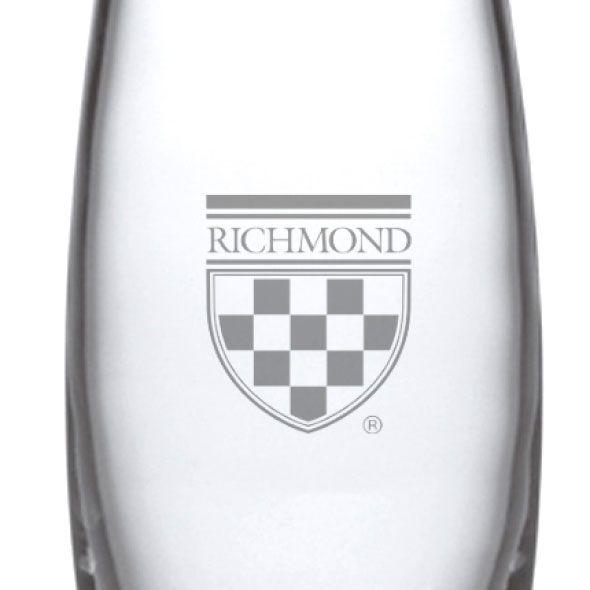 University of Richmond Glass Addison Vase by Simon Pearce - Image 2