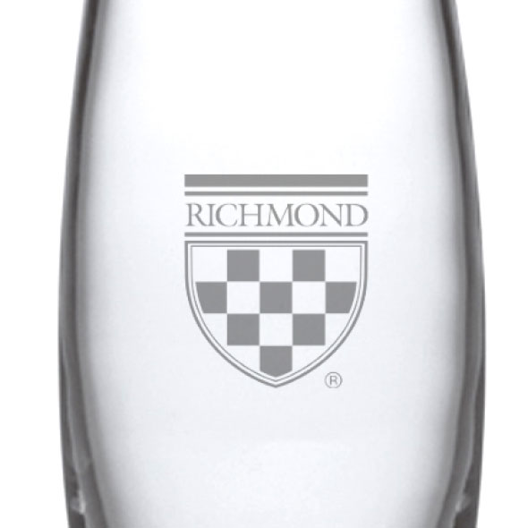 University of Richmond Glass Addison Vase by Simon Pearce - Image 2
