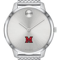 Miami University Women's Movado Stainless Bold 35