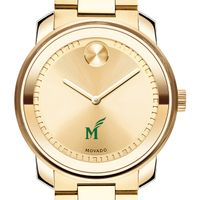 George Mason University Men's Movado Gold Bold
