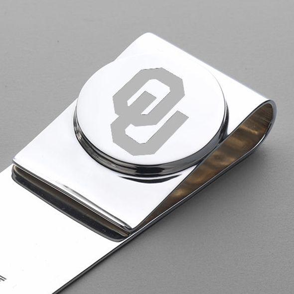 Oklahoma Sterling Silver Money Clip - Image 2