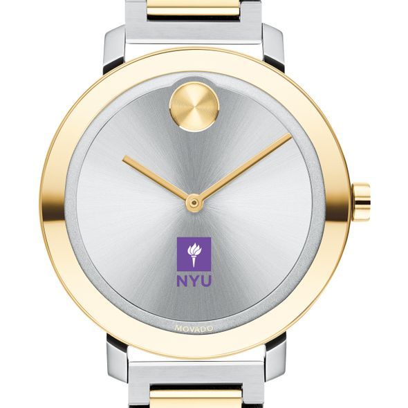 New York University Women's Movado Two-Tone Bold 34