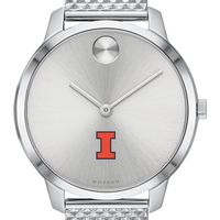 University of Illinois Women's Movado Stainless Bold 35