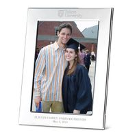 Tulane Polished Pewter 5x7 Picture Frame