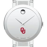 University of Oklahoma Men's Movado Sapphire Museum with Bracelet