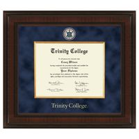 Trinity College Diploma Frame - Excelsior
