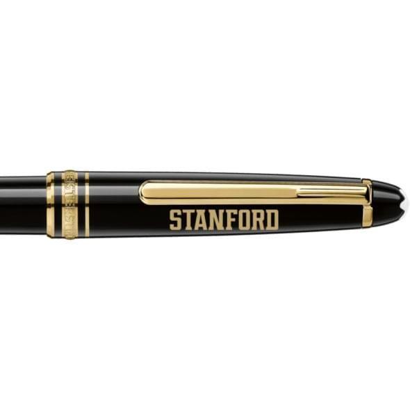 Stanford University Montblanc Meisterstück Classique Ballpoint Pen in Gold - Image 2