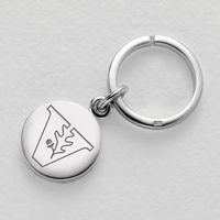 Vanderbilt Sterling Silver Insignia Key Ring
