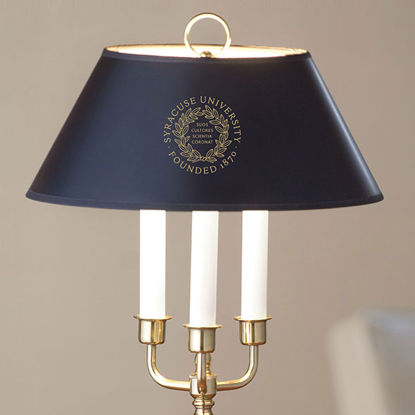 Syracuse University Lamp in Brass & Marble - Image 2
