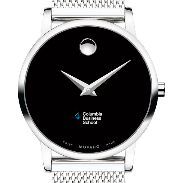 Columbia Business School Women's Movado Museum with Mesh Bracelet - Image 1